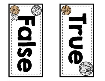 True or False Money Sorting Cards {counting coins less than $1.00}
