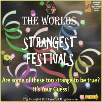 World Festivals - PowerPoint Game