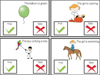 True or False Task Card Set
