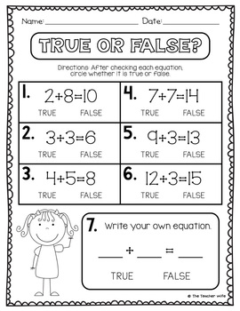 True or False? (Vocabulary Activities)