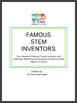 True stories of famous young inventors with sketching and building activities!