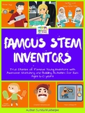 True stories of famous young inventors with sketching and