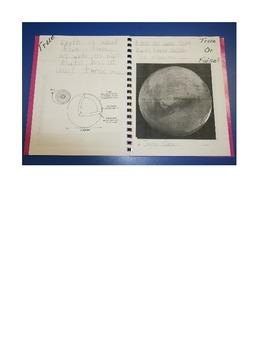 True/False Book Project - Lesson Plan & Paperwork
