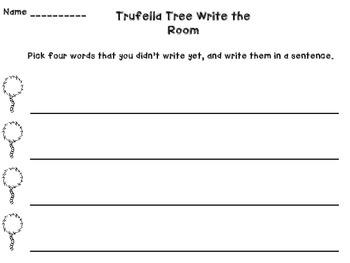 Write the Room Truffela Tree