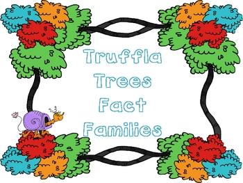 Truffla Trees Fact Families