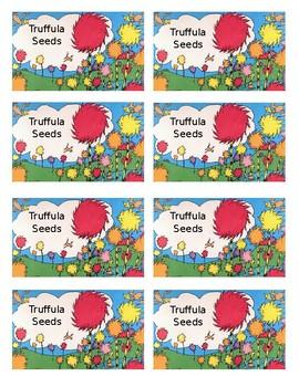 photograph regarding Truffula Seeds Printable referred to as Truffula Seeds