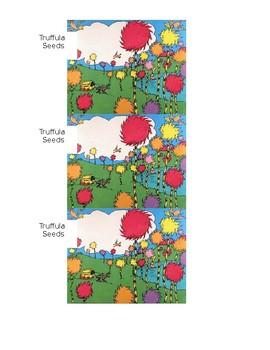 graphic regarding Truffula Seeds Printable named Truffula Seed Worksheets Coaching Products Instructors Pay back