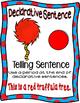 Truffula Tree 4 sentence posters  (The Lorax Dr. Seuss)