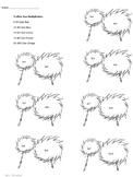 Truffula Tree Multiplication: Dr. Seuss Math