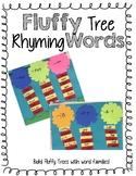 Fluffy Tree Rhyming Words