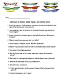 Trujillo and the Butterfly sisters Web Quest in English