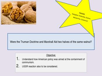 Truman Docrtrine and Marshall Plan