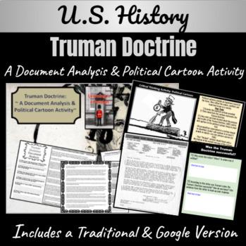 Truman Doctrine: A Document Analysis & Political Cartoon Activity