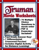 Truman Movie Questions --  Word and Examview formats