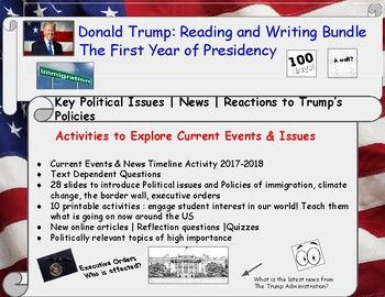 Donald Trump The First 100 Days