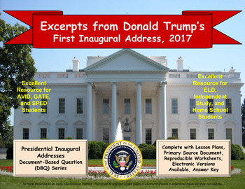Trump's First Inaugural Address - DBQ - PPTX - Ready for 1-to-1 Devices