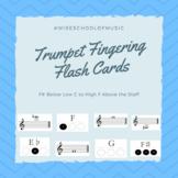 Trumpet Fingering Flashcards