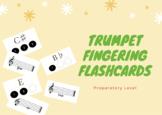 Trumpet Fingering Flashcards - RCM Preparatory Level