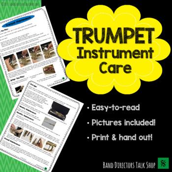 Trumpet Instrument Care