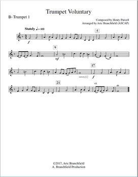 Trumpet Voluntary - Brass Quartet