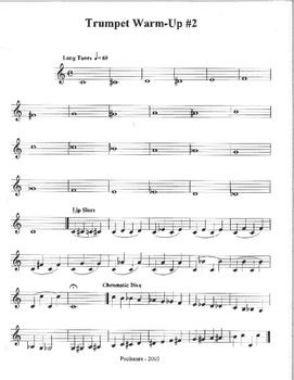 Trumpet Warm-Up