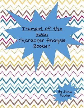 Trumpet of the Swan Character Booklet