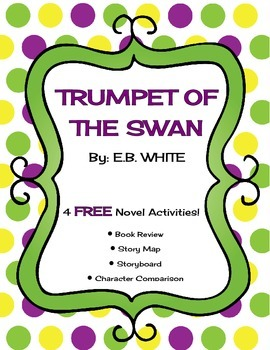 Trumpet of the Swan Novel Study Package