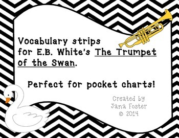 Trumpet of the Swan Vocab Strips