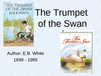 Trumpet of the Swan intro powerpoint