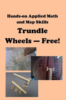 Trundle Wheels -- Free!  Hands-on Applied Math and Map Skills