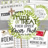 Trunk or Treat Decor Pack, Fixer Upper/Construction Farmhouse Theme