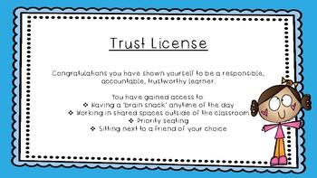 Trust License