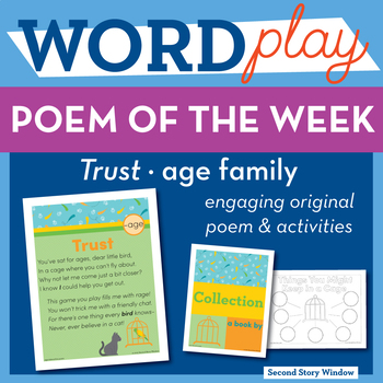 Trust -age Word Family Poem of the Week
