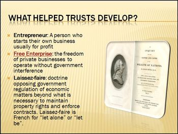 Trusts: Differentiated Instruction PowerPoint Mini-Lesson
