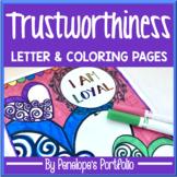 Trustworthiness Activity:  Honesty & Trustworthy Coloring