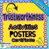 Character Education-Trustworthiness Posters (Success Orientation) 3rd - 6th