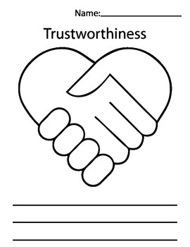 Worksheets Trustworthiness Worksheets trustworthiness worksheets pixelpaperskin delibertad