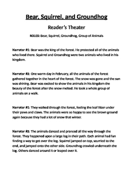 Trustworthy - Reader's Theater Script
