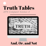 Truth Tables - Practice