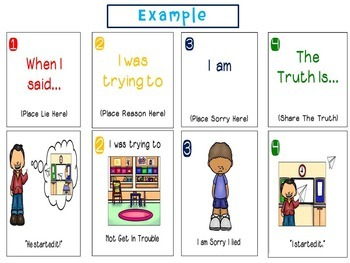 Truth or Lies: How To Tell The Truth Task Cards, Worksheets and Game