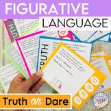 Figurative Language Truth or Dare Activity - Print & Digital