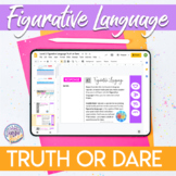 Truth or Dare Figurative Language Style