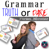 Truth or Dare Grammar Game (6-12 Grades)