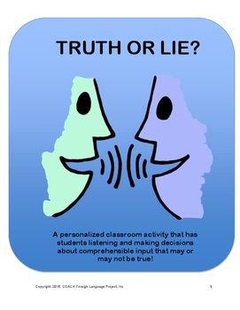 Truth or Lie!