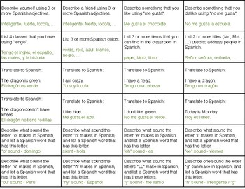 Truth or Trivia - Spanish Review Game