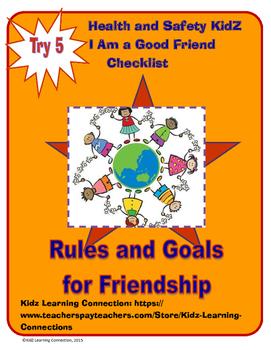 Friendship Checklist -  Am I Good Friend?
