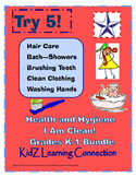 Healthy and Clean Hygiene Bundle Grades K-1