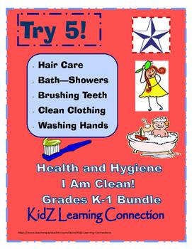 Healthy and Clean Hygiene Bundle Grades K-1
