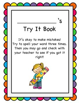 Try It Booklet