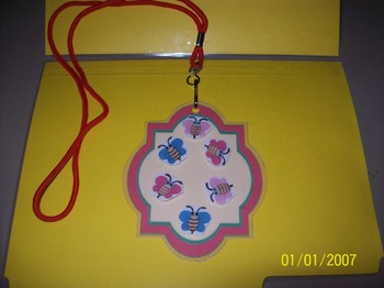 Try This Positive Recognition Badge Lanyard
